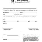 FRESH NOMINATION FORM