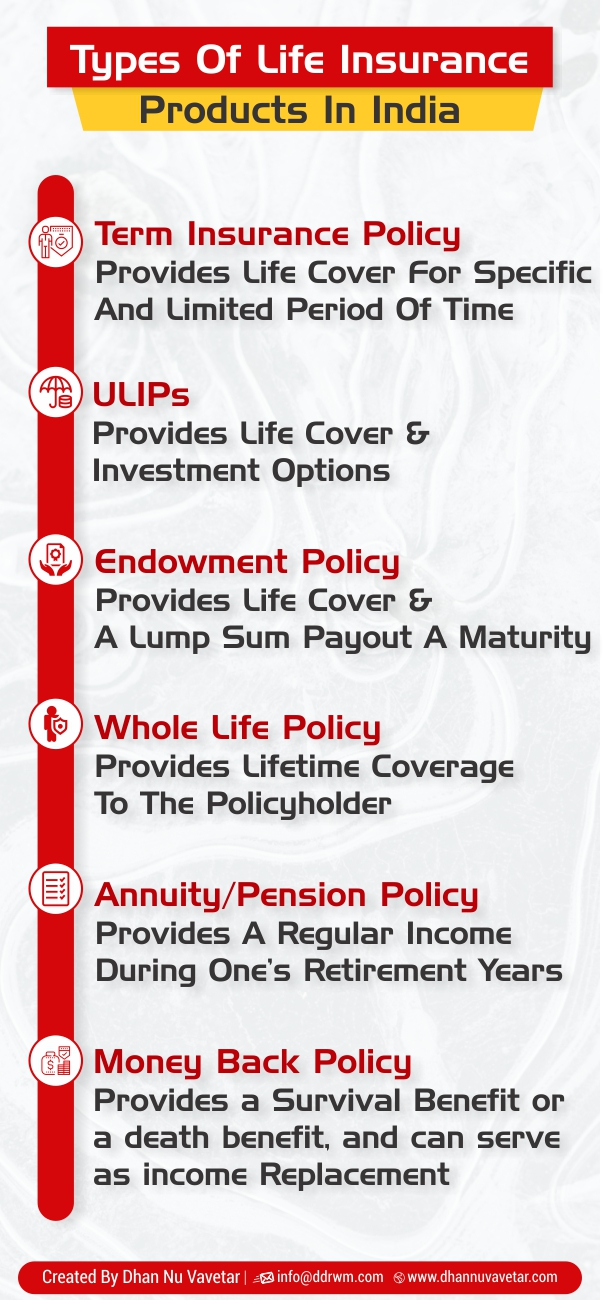 Life Insurance Types Infographic